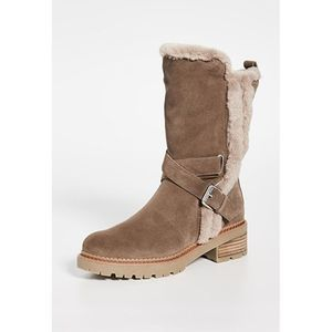 Sam Edelman Jailyn Faux Fur-Lined Suede Boots